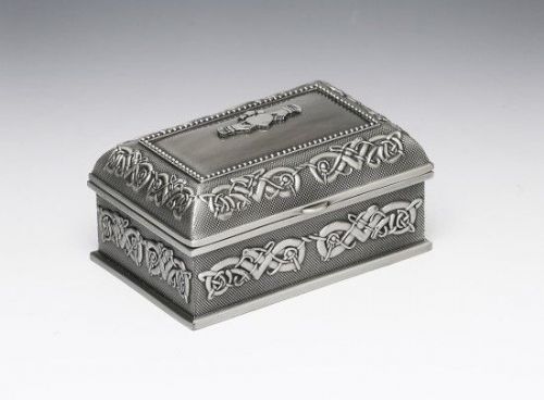 Small Claddagh Jewellery Box